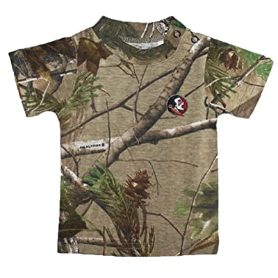 Florida State Seminoles Camouflage NCAA College Toddler Baby T-Shirt Tee