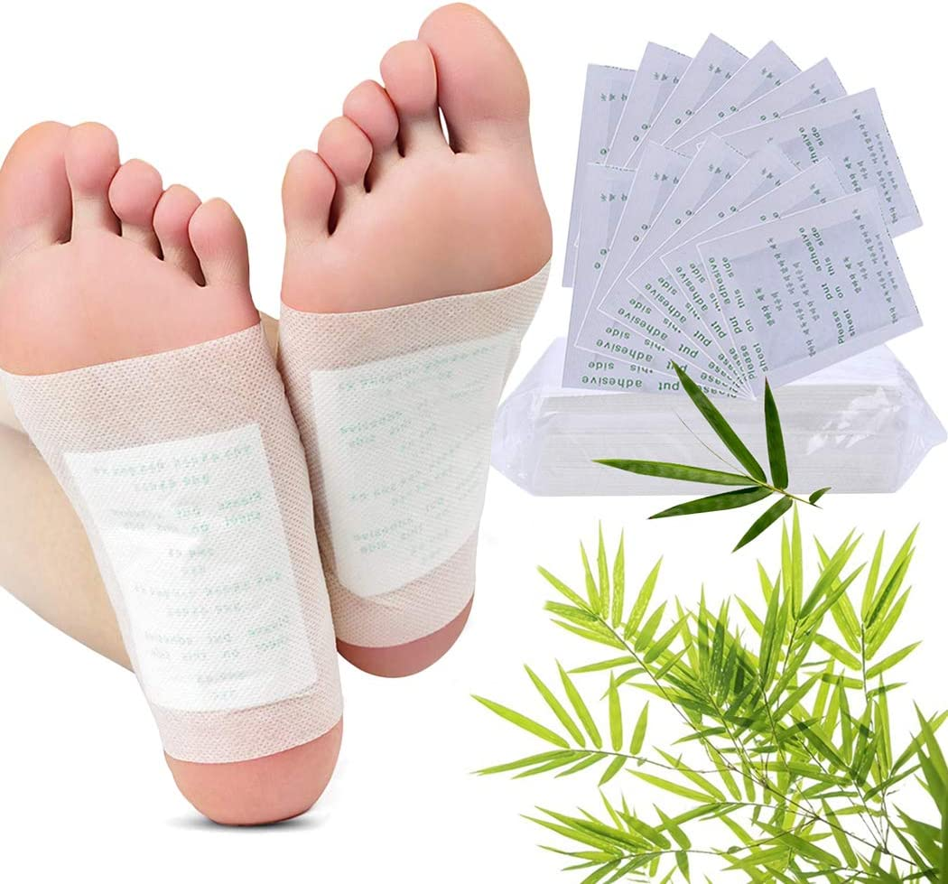 Foot Pads, Fanspack 100Pcs Foot Pads Pain Relief Health Care Foot Care Pads with 100Pcs Adhesive Sheets