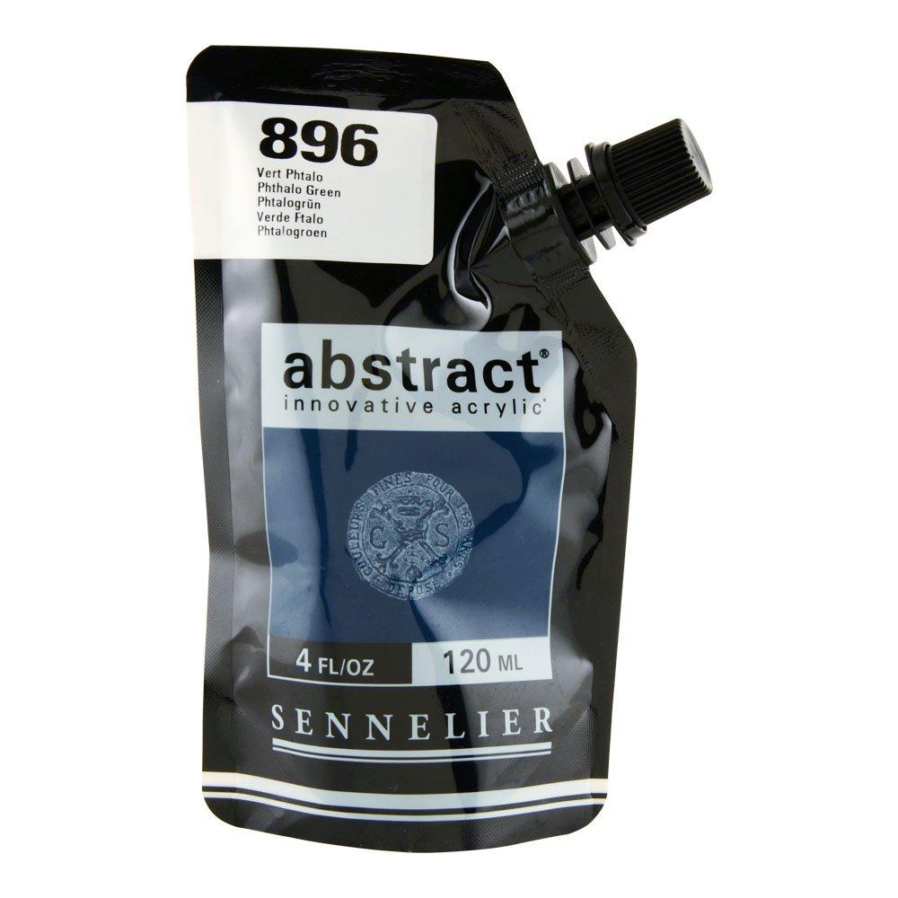 Abstract Acrylic 120ml Phthalo Green SAVOIR-FAIRE