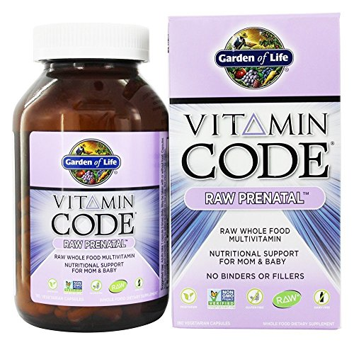 Garden Life Vitamin Prenatal Capsules