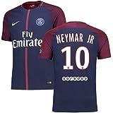 NIKE Mens 2017-18 Paris Saint-Germain Neymar JR Match Home Jersey (Slim