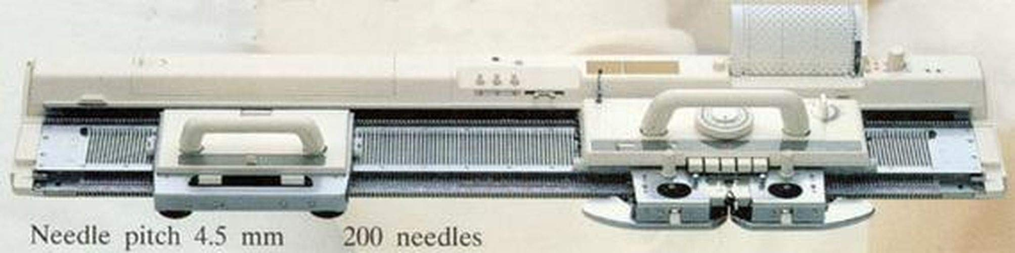 KH868 4.5mm (5.6 Gauge) Punch Card Knitting Machine Automatic Needle Selection Same as Bother KH868