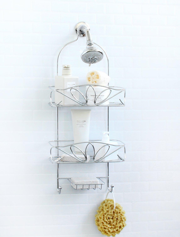 Vanderbilt Home Hanging Shower Caddy in Silver - Magnolia