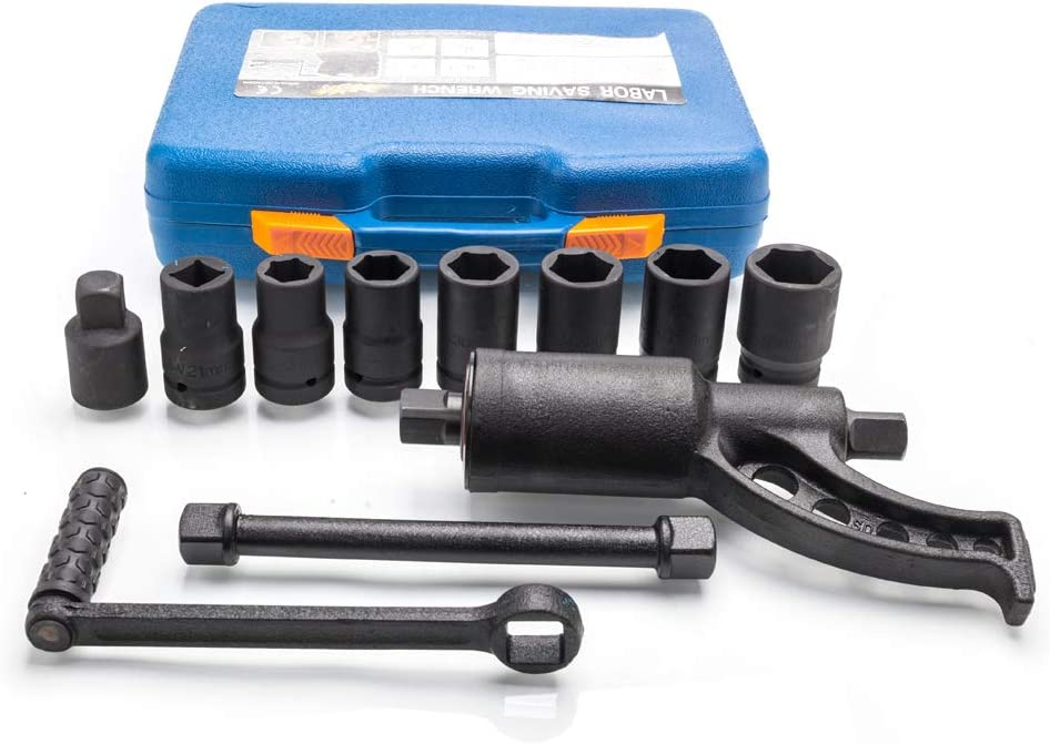 Torque Multiplier with hand Crank #8645 ATD Truck Lug Nut// Tire Remover Kit