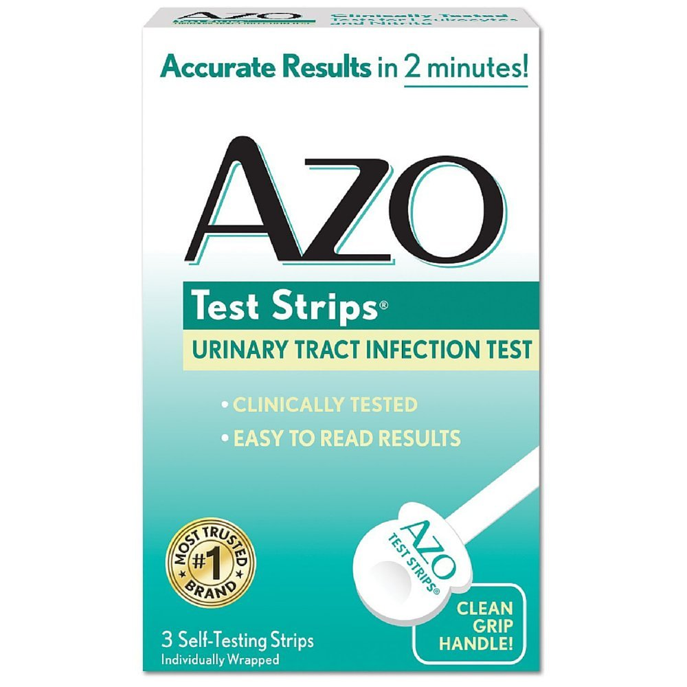 AZO Test Strips 3 Each (Pack of 11)