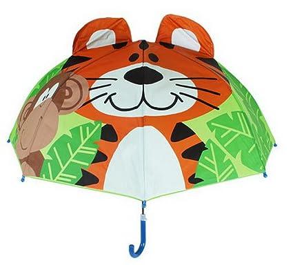 Amazon.com: Gentle Meow - Paraguas para niños, diseño de ...