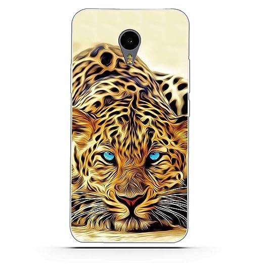 2 opinioni per Meizu M2 Note Cover, Fubaoda Alta qualità Gufo Tiger Lion artistico Painting