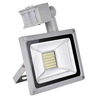CSHITO IP65 30W LED Projecteur Lumière avec Détecteur de Mouvement ...
