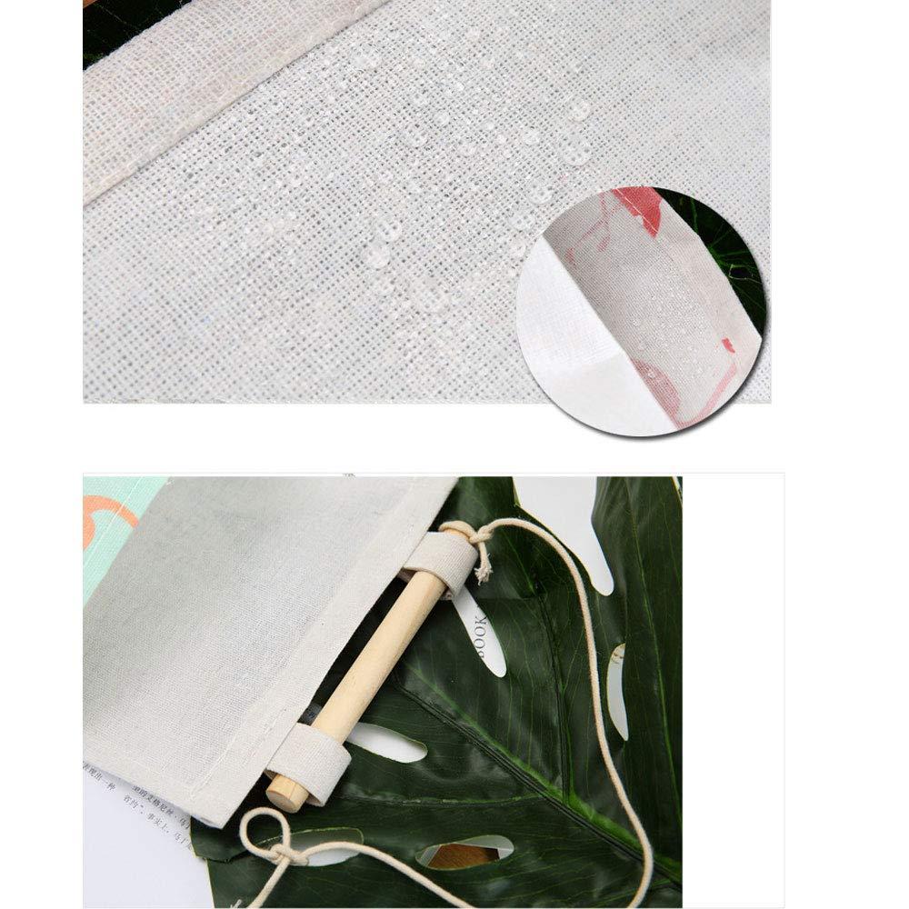 H/ängende Tasche mit 3 Taschen H/ängender Organizer CozofLuv 2 STK 21 * 59cm Flamingo Badezimmer B/üro H/ängeaufbewahrung f/ür Kinderzimmer Schlafzimmer