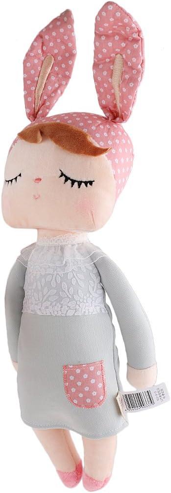 Juguetes Creativos Colgante Muñeca Presente de Cumpleaños Felpa para Niñas - Gris