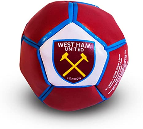 West Ham United FC Mini Bean Filled Kick Trick Football Ball by ...