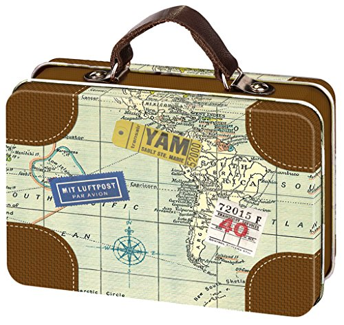 Amazon De Moses Fernweh Mini Reisekoffer Reise Aufbewahrung