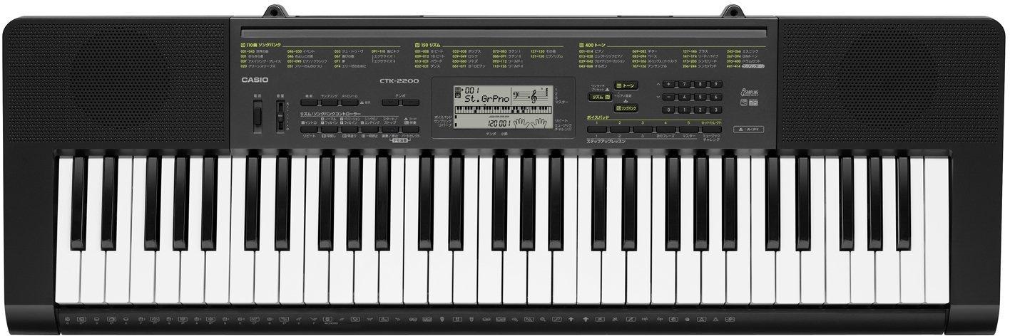 カシオ 電子キーボード 61標準鍵 ベーシックタイプ CTK-2200 スタンドセット B01LXDTYLJ スタンドセット