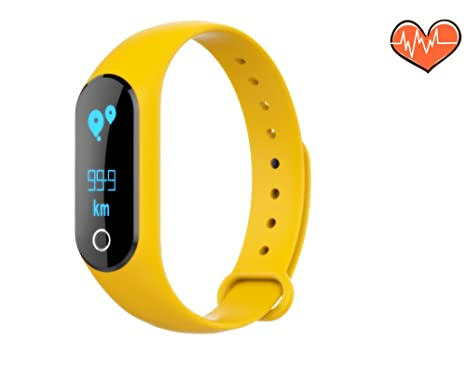 MINI LIFE Fitness Tracker,Touch Screen Sport Smart Watch with Heart Rate,Calorie Calculation