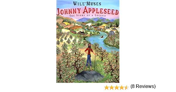 Counting Number worksheets johnny appleseed worksheets for 2nd grade : Johnny Appleseed: The Story of a Legend: Will Moses: 9780399231537 ...