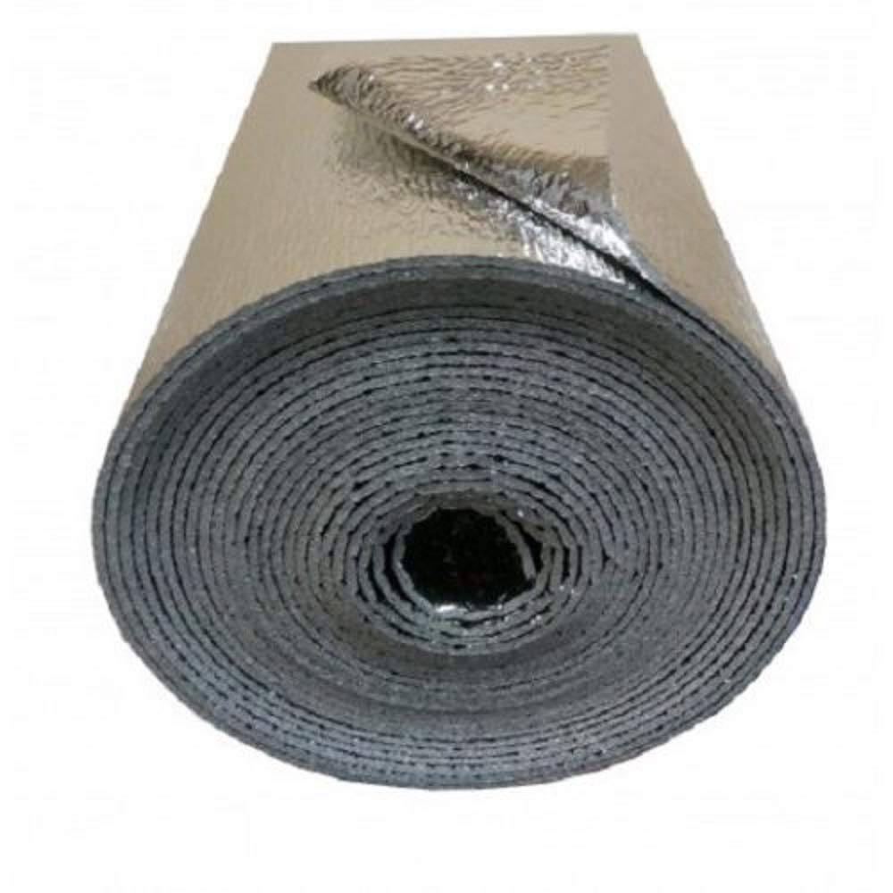 "Reflective Foam Insulation Heat Shield Thermal Insulation Shield 48""x4ft"