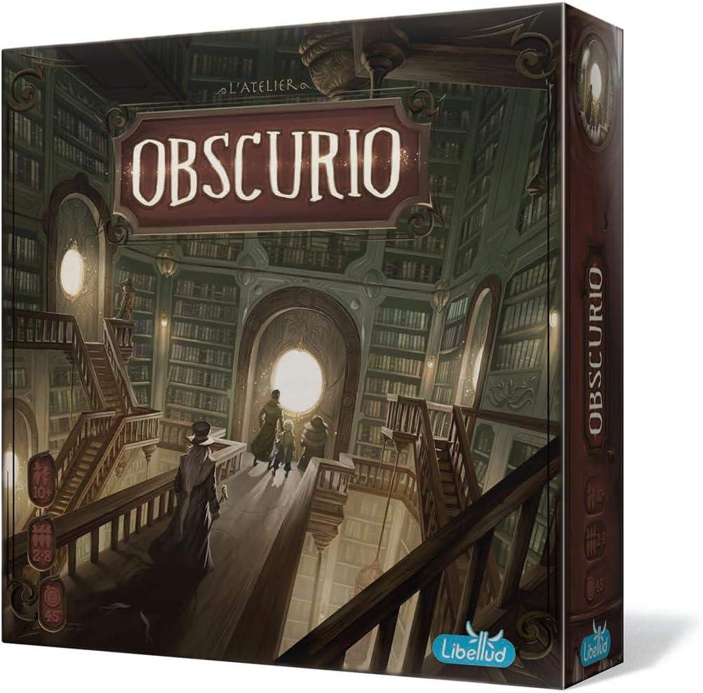 Libellud- Obscurio - Español, Color (LIBOB01ESPT): Amazon.es: Juguetes y juegos