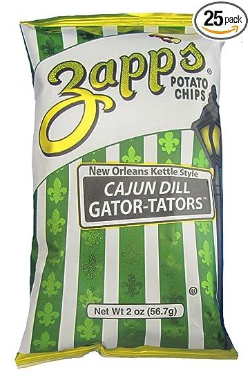 Amazoncom Zapps New Orleans Kettle Style Potato Chips Cajun