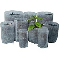 Etbotu Degradable Non-woven Nursery Bags Seedling-raising Pots Gardening Supplies 100PCS