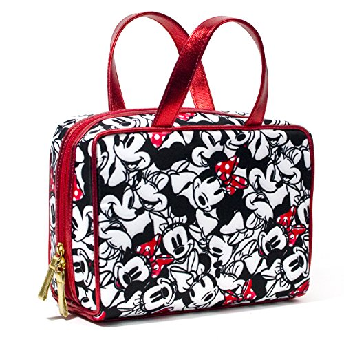 Price comparison product image LONDON SOHO NEW YORK Disney Collection Minnie Mouse Weekender Cosmetic Bag, Minnie Facial Expressions