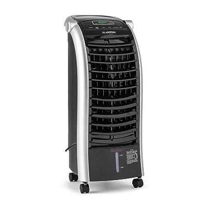 Klarstein Maxfresh WH • Enfriador Climatizador Portátil con Ventilador • Humidificador • Mando Distancia • 6