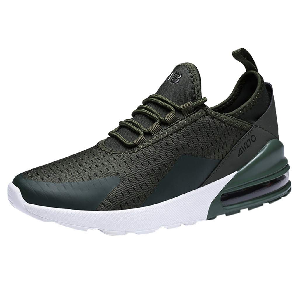Fashion Running Shoes for Mens Lightweight Sneaker Mesh Breathable Casual Athletic Walking Shoes by Daorokanduhp Shoes