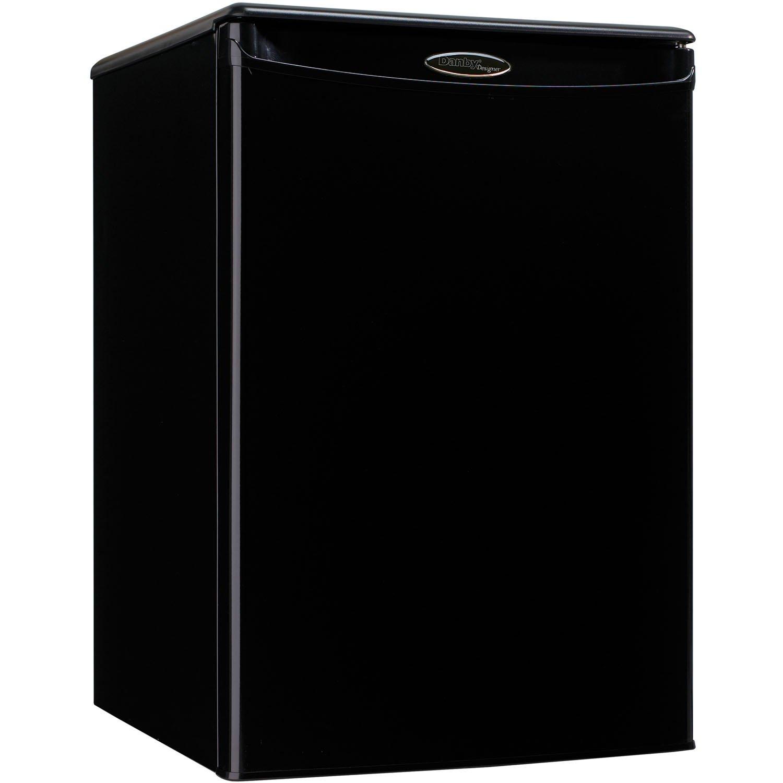 Danby DAR026A1BDD-3 Compact Refrigerator, 115 V, 15 A, 1 Door 2.6 cu-ft Black
