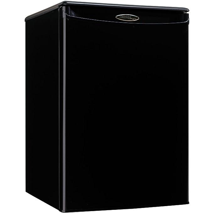Danby DAR026A1BDD-3 Designer Compact All Refrigerator, 2.6-Cubic Feet, Black