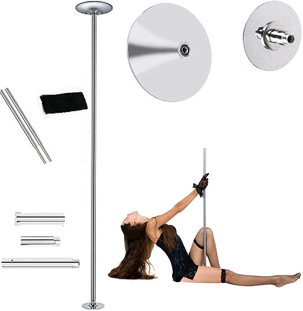 45 mm Fitness ejercicio Spinning estática Pole Dance Stripper tira ...