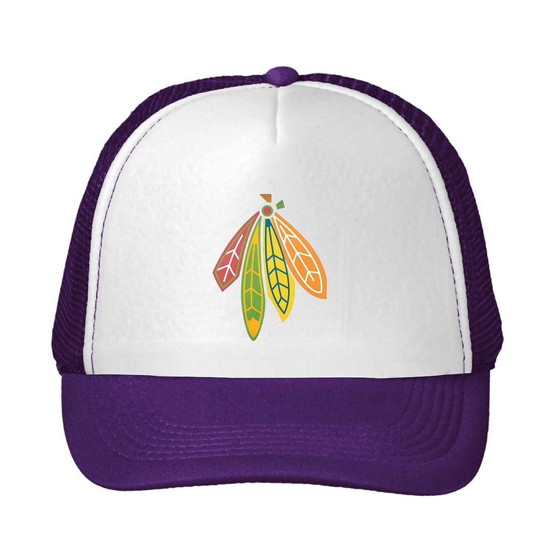 Men's/Women's cotton trucker hat Chicago Blackhawks NHL 2016 fan logo Popular Logo sun cap