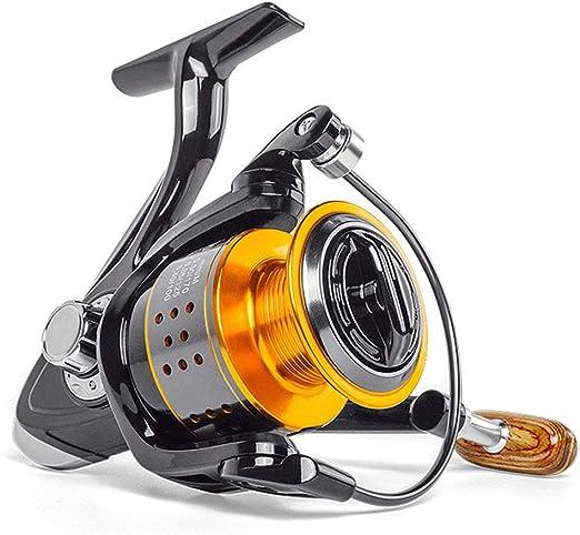 HULEI Spinning Fishing Reel 13BB FA3000 4000 6000 Todo Metal Rueda ...
