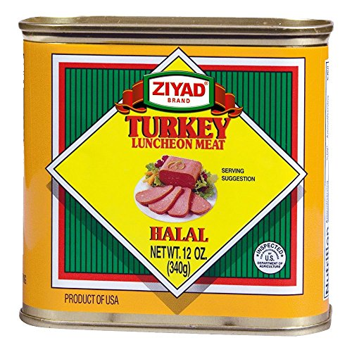 Ziyad Turkey Luncheon Meat, Halal 12 OZ, (Pack 1)