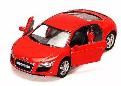 Amazon Com Audi R8 Red Kinsmart 5315d 1 36 Scale Diecast Model