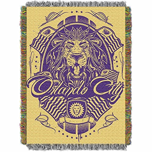 fan products of MLS Orlando City SC Handmade Woven Tapestry Throw, 48