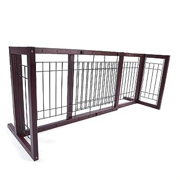 Amazon.com : Olymstore Baby Safety Pine Fence Pet Dog Cat Barrier ...