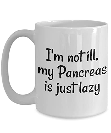 Amazon Diabetes Coffee Mug Best Funny Unique Diabetic Tea Cup