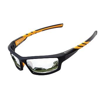 a68fd9ed8d Meetlocks Gafas de sol deportivas polarizadas, marco de la PC, protección  UV400 gafas deportivas