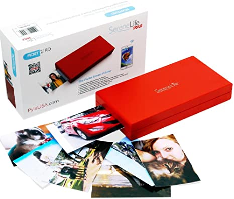 Amazon.com: SereneLife - Impresora fotográfica portátil ...