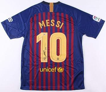 546d3f604 Lionel Messi Signed Jersey - Leo Beckett BAS COA - Beckett Authentication -  Autographed Soccer Jerseys