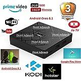 HK1 Mini Android 8.1 Oreo 2GB/16GB Android TV Box,Jio TV, Video,Hotstar-x96 max,x96 Mini,tx3 Mini,mecool,alfawise