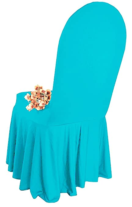 Sensational Wedding Linens Inc Spandex Banquet Fitted Chair Covers Lycra Stretch Elastic Wedding Party Decoration Chair Cover Turquoise Andrewgaddart Wooden Chair Designs For Living Room Andrewgaddartcom
