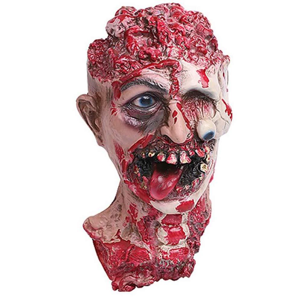 Lywhome Halloween Effrayant Masque De Fête Masque De Sang,A [Classe énergétique A]