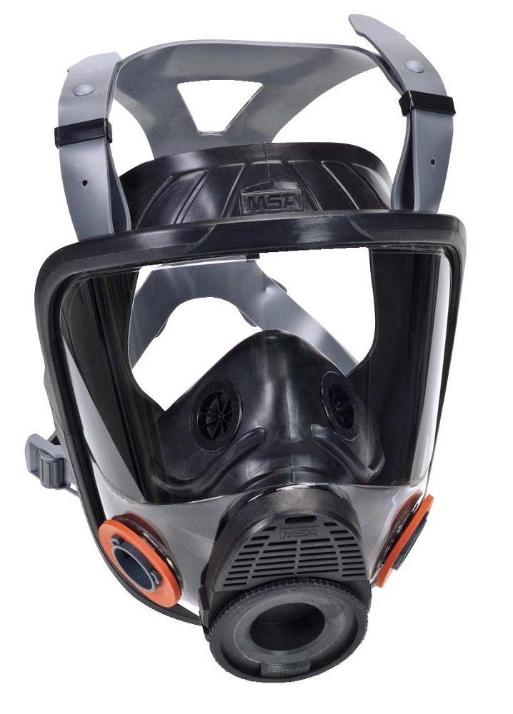 MSA 10089110 Advantage 4000 Abrasi-Blast Facepiece, Medium