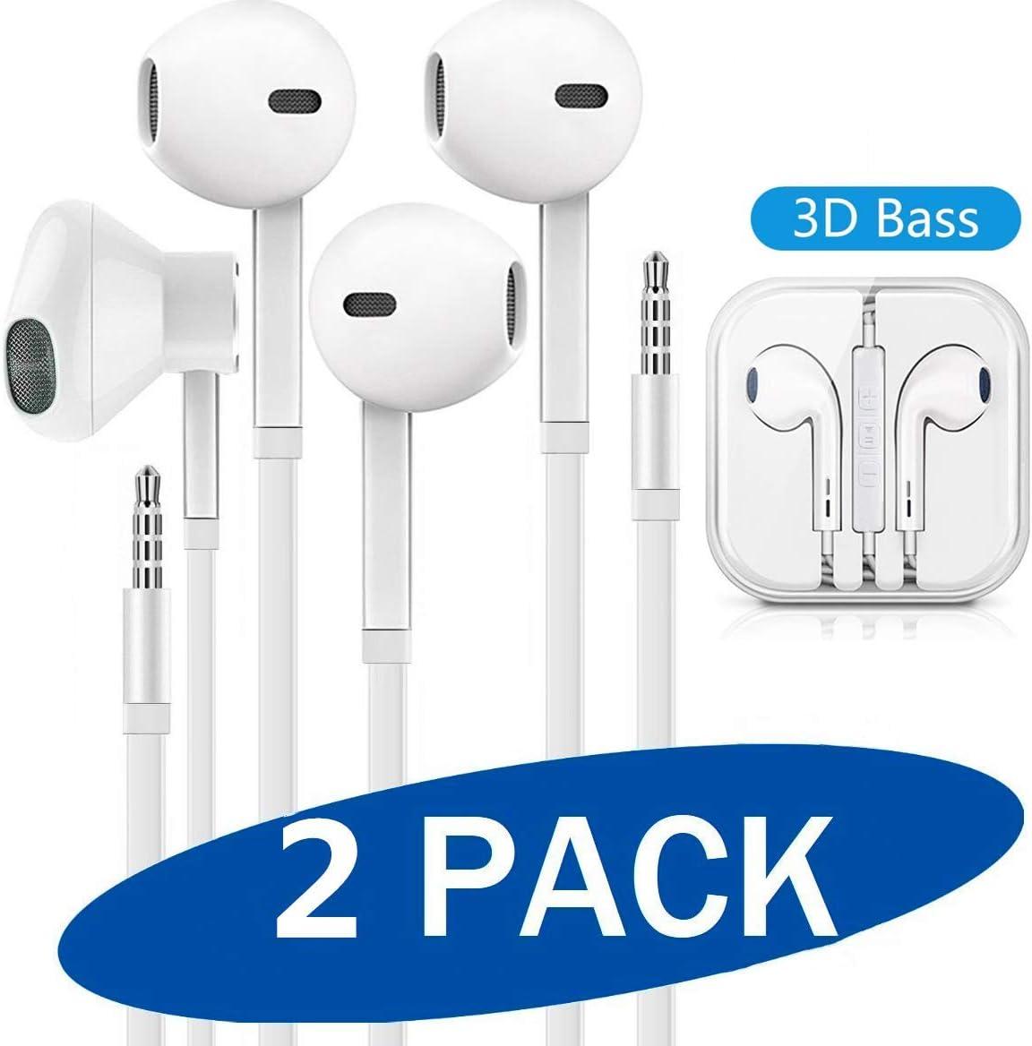 Auriculares,Auriculares con micrófono, Sistema de cancelación de Ruido y Sonido Envolvente. Compatibles con iOS Sistema,Samsung,Android y PC…
