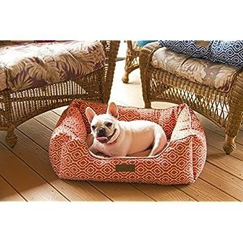Amazon.com : Pet Trendy Microfiber Pet Bed, 17 X 22 X 7