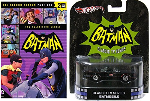 TV Series Retro Entertainment Hot Wheels Batmobile & Batman Television DVD Series 30 Episodes Classic (Penguin Man From Batman)