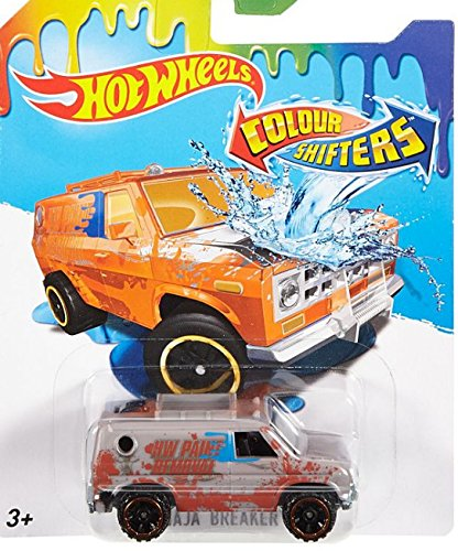 Amazon Com Baja Breaker Van Hot Wheels Color Shifters 2016 Orange