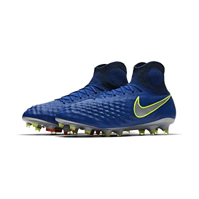 Nike Men s Magista Obra II FG - (Deep Royal Blue Chrome) (8 9acccb783b