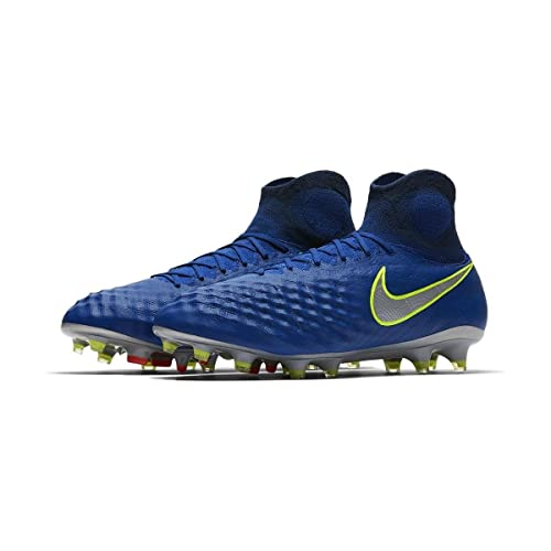 NIKE Mens Magista Obra II FG - (Deep Royal BlueChrome) (8