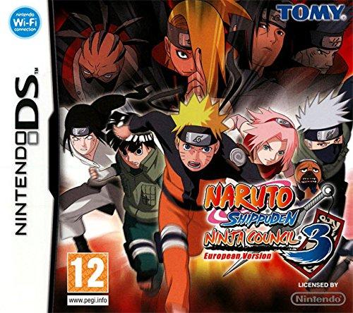 Nintendo Naruto Shippuden Ninja Council 3 European Version ...